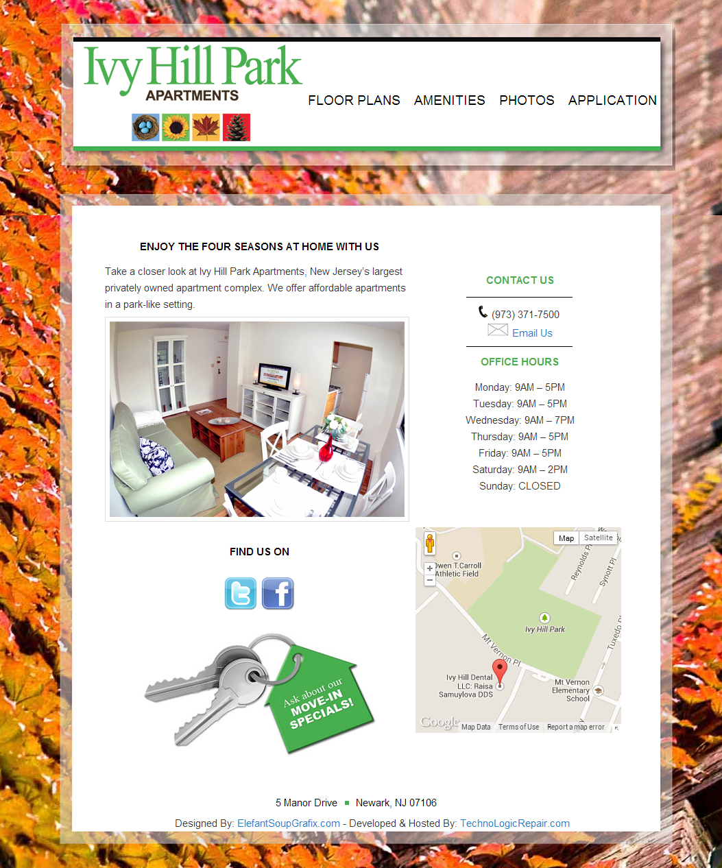 Ivy Hill Apartments: TLR Striking Web Solutions